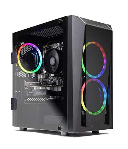 Skytech Blaze II Gaming Computer PC Desktop  RYZEN 7 2700 8-core 3.2 GHz, RTX 2060 6G, 500GB SSD, 16GB DDR4 3000MHz, RGB Fans, Windows 10 Home