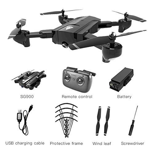 Jiobapiongxin SG900 Pieghevole Quadcopter 720 P Drone Quadcopter WiFi FPV Droni Flusso Ottico...