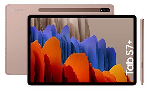 Samsung Galaxy Tab S7+ - Tablet de 12.4' QHD (Wifi, Procesador...