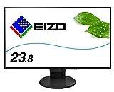 EIZO FlexScan 23.8インチ ディスプレイ モニター (フルHD/IPSパネル/ノングレア/ブラック/5 無輝点保証) EV2451-RBK