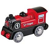 Hape - E3703 - Circuit de Train en Bois - Locomotive Electrique