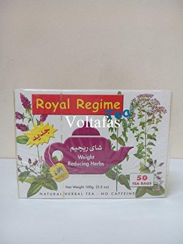 2 Packs of Royal Regime (Weight Loss) Tea 50 Sachetss (100 Sachets) 1
