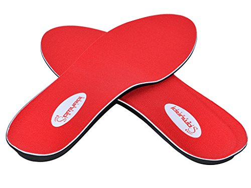 The Original Samurai Insoles - Plantar Fasciitis, Heel and Arch Pain, Flat Feet, Shin Splints, Neuroma Arch Support Shoe Insert Insoles- Relief Guaranteed, Made in The USA M4-4.5/W6-6.5