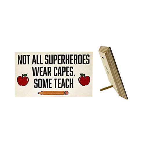 JennyGems Not All Superheroes Wear Capes Some Teach | for...