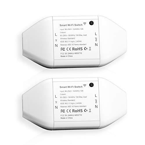 Interruptor Universal Inteligente con Wi-Fi con Control Remoto...