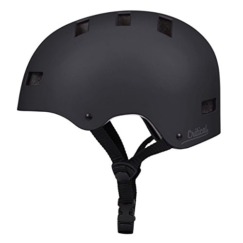Retrospec CM-1 Bicycle / Skateboard Helmet for Adult CPSC Certified Commuter, Bike, Skate,Matte Black