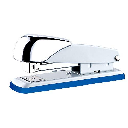 YLiansong Spillatrice Cucitrici Articoli per Ufficio Cucitrice a pinzatura a Sella Cucitrice a Mano Corpo in Metallo ergonomico