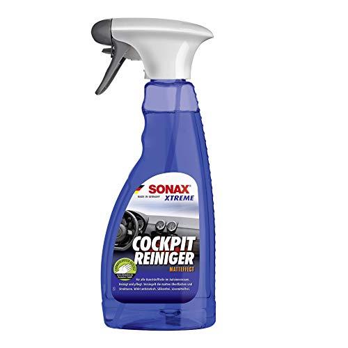 SONAX XTREME CockpitReiniger Matteffect (500 ml) Reinigung und Pflege für alle Kunststoffoberflächen im Autoinnenraum   Art-Nr. 02832410
