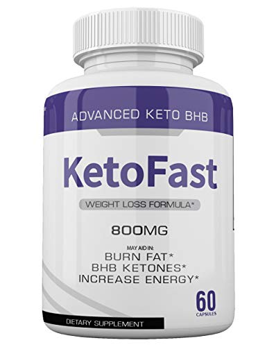 (5-Pack) Keto Fast Diet Pills BHB Advanced Ketogenic Keto Fast Burn Ultra Weight Management Capsules 700mg Pure Keto Fast Supplement for Energy, Focus Boost Exogenous Ketones for Rapid Ketosis 4