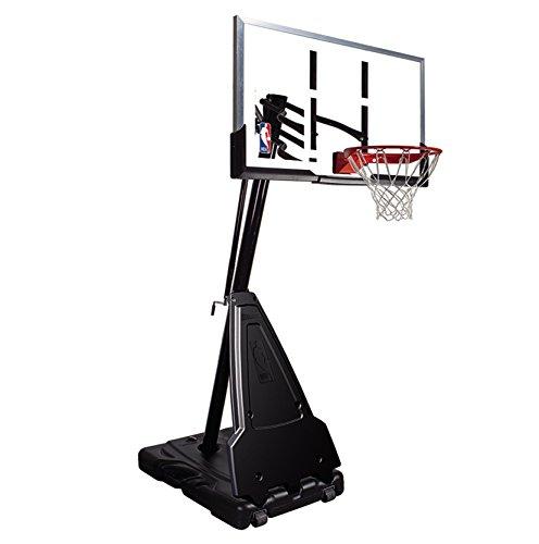 Spalding Portable Basketball System 54 Inch Aluminum Trim Acrylic Backboard