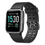 Willful Smartwatch,Fitness Armbanduhr mit Pulsuhr Touchscreen Fitness Uhr IP68...