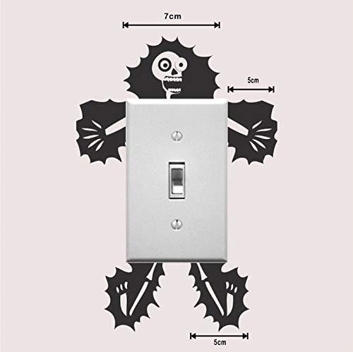 ZWXDMY Interruptor Pegatinas,Precaución Electricidad Impermeable Extraíble/Corredor Porche Salón Dormitorio Decoración De Hogar/Pegatinas De Dibujos Animados,1Pcs