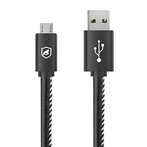 Cabo Turbo Militar - 1,5M - Micro USB V8 - Gshield