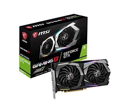 MSI Nvidia GTX1660Ti Gaming X 6G Fan, Scheda Grafica, 6 GB GDDR6, 1875 MHz, PCI-Ex16 3.0, DisplayPort x 3 (v1.4) / HDMI 2.0b x 1