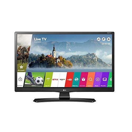 Smart TV LCD LED, LG, 24MT49S, 23.6, Preto