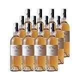 Muscat de Beaumes-de-Venise Rosé 2018 - Domaine Pierre Rougon - Vin AOC Rosé de la Vallée du Rhône - Lot de 12x75cl - Cépage Muscat Petit Grain