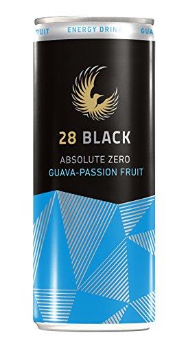 28 Black Absolute Zero Guava-Passion Fruit, 24er Pack, EINWEG (24 x 250 ml)