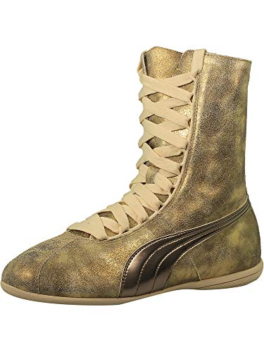 9. PUMA Women's Eskiva Hi Metallic High-Top Fashion Sneaker