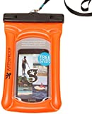 geckobrands Float Phone Dry Bag - Waterproof & Floating Phone Pouch – Fits Most iPhone and Samsung...