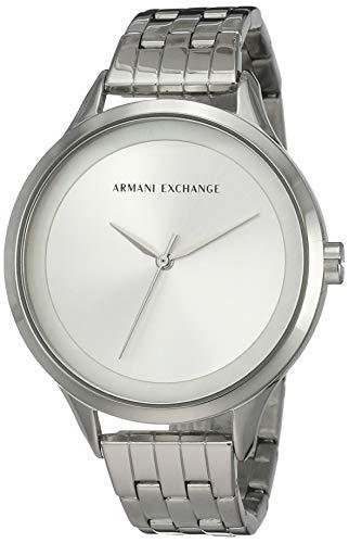 Armani Exchange Orologio Analogico Quarzo Donna con Cinturino in Acciaio Inox AX5600