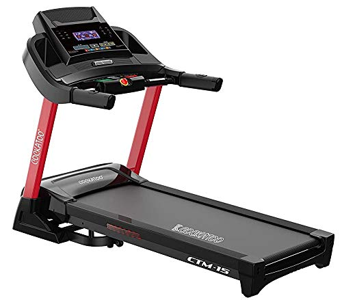 Cockatoo CTM-15 4 HP -6 HP Peak DC Motorized Treadmill with Auto Incline Up to 16%, Max User Weight...