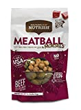 Contains (1) 12 Ounce Bag of Dog Treats Tasty real meat treats for dogs Soft treats are easy to break into smaller pieces Grain-free recipe with no artificial flavors or meat by-products Safely cooked in the USA with no ingredients from China