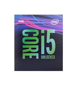Intel Core i5-9600K Desktop Processor 6 Cores up to 4.6 GHz Turbo Unlocked LGA1151 300 Series 95W