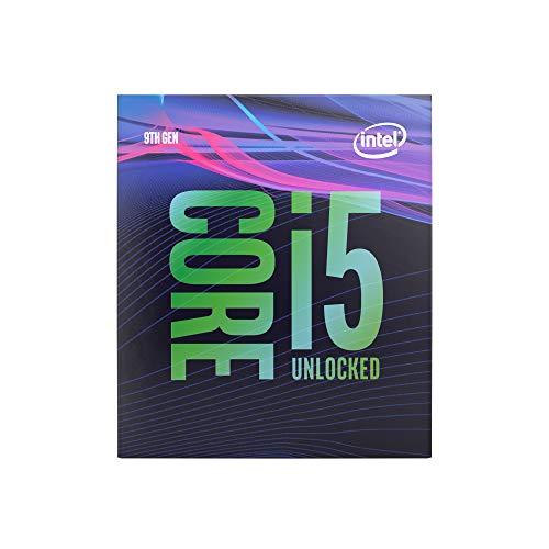 Intel Core i5-9600K Prozessor (9M Cache, bis zu 4,60 GHz), schwarz