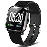 """DoSmarter Fitness Watch, 1.3"""" Touch Screen Smartwatch with Heart Rate Blood Pressure Monitor,..."""