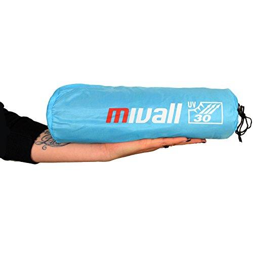 kleine leichte Reise Strandmuschel mit UV Schutz 30