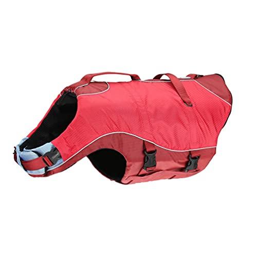 Kurgo Dog Water Life Jacket, Inflatable Safety...