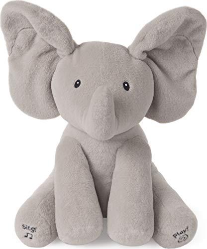 GUND Baby Animated Flappy The Elephant Stuffed Animal Plush,...