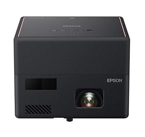 Epson EF-12 - Proiettore laser portatile 3LCD (Full HD 1920 x 1080p, 1000 lumen, luminosit di colore e bianco, rapporto di contrasto 2.500.000:1, solo 1,2 kg di peso, Android TV integrato, HMDI)