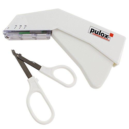 Pulox cucitrice cutanea monouso sterili e levapunti con 35 cucitrice per uso medico