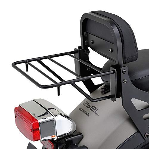 デイトナ バイク用 バックレスト キャリア レブル 250 / 500 リバーシブルバックレスト + キャリア フルパッケージ 97031