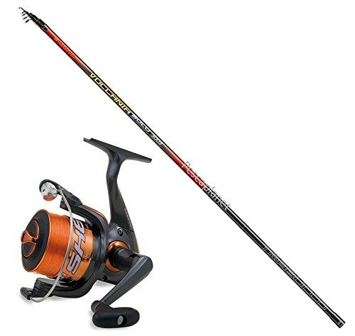 Evo fishing Kit Bolognese Canna TRABUCCO VULCANIA 5 mt + Mulinello SHIZUKA SK6 2000