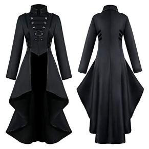Fossenfeliz Disfraz Halloween Mujer, Disfraces Medievales Mujer de Bruja - Vestidos de Fiesta Largos de Noche con…