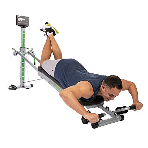Total Gym APEX G5 Versatile Indoor Home Workout Total Body Strength Training Fitness Equipment with 10 Levels of Resistance and Attachments 5