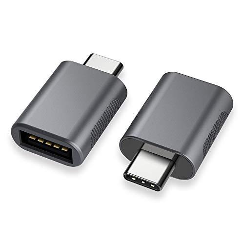 שתי יחידות מתאם מומלץ USB C to USB