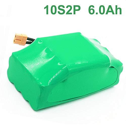 6.0Ah 36V pacco batteria ricaricabile agli ioni di litio per monopattino elettrico hoverboard...