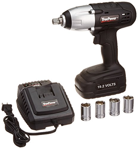 Gino Development 01-0100 19.2V TruePower 300 ft.lbs. 1/2' Drive Cordless Impact Wrench Kit