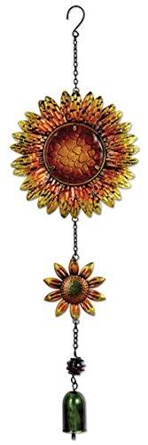Sunset Vista Designs 14166 Hängedeko Gartenglocke, Sonnenblumen