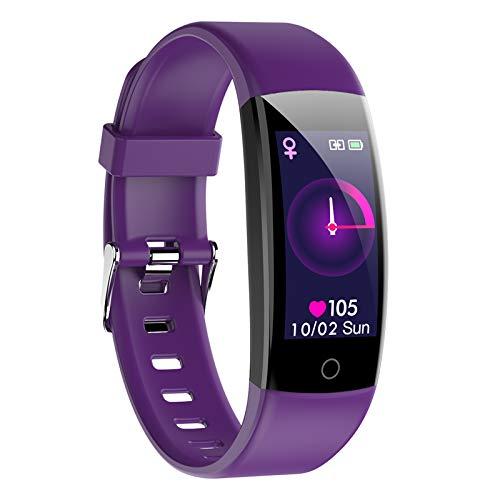 Fitness Tracker, cardiofrequenzimetro, orologio intelligente da uomo, sportivo, IP67, smart watch, cardiofrequenzimetro, contapassi, orologio per il sonno, per donna, uomo dei gamini