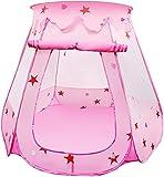 LEADSTAR Tente de Jeux pour Enfants Pliable Piscine à Balles (Rose)