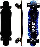 Skateboard 7 Layers Decks 31'x8' Pro Complete Skate Board Maple Wood Longboards for Teens Beginners Girls Boys Kids
