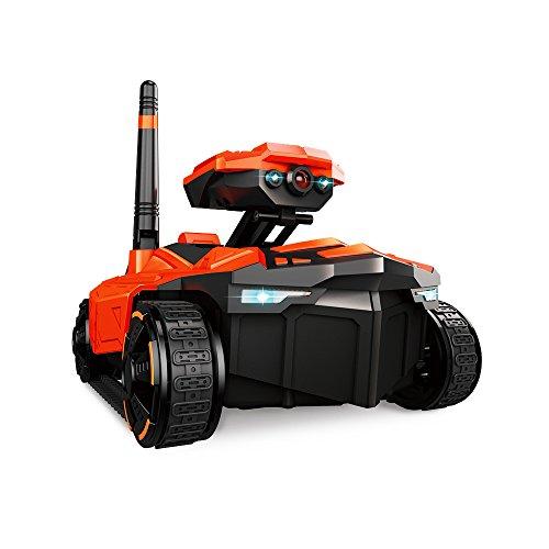 Goolsky ATTOP YD-211 Wifi FPV 0.3MP telecamera remota controllo spia serbatoio RC giocattolo telefono controllato robot