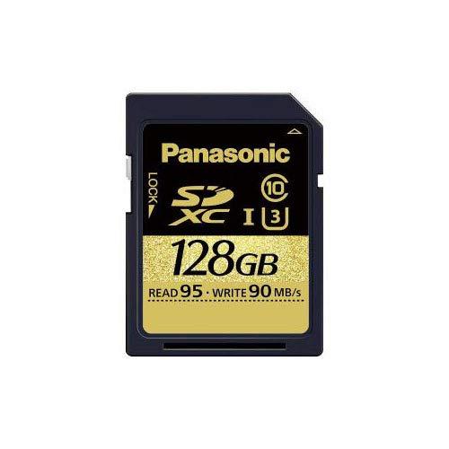 パナソニック 128GB SDXC UHS-I メモリーカード RP-SDUC128JK