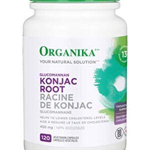 Organika Konjac Root, 450 mg, 120 Count 6 - My Weight Loss Today