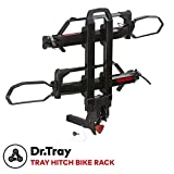 YAKIMA - Dr.Tray Hitch Mount Tray Bike Rack, 2 Bike Capacity, 2'