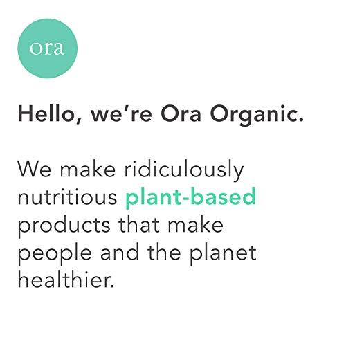 Ora Organic Probiotics with Prebiotics - Vegan Prebiotic and Probiotic for Digestive Health | Dairy-Free, Gluten-Free, for Sensitive Stomachs - 60 Easy-Swallow, Vegan Capsules, 1 Month Supply 5